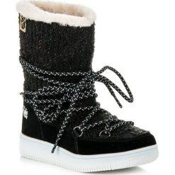 BUTY ZIMOWE. Czarne buciki niemowlęce KYLIE, na zimę. Za 79,90 zł.