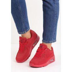 Czerwone Buty Sportowe Vintage Nilda. Czerwone buty sportowe damskie Born2be, z materiału. Za 89,99 zł.