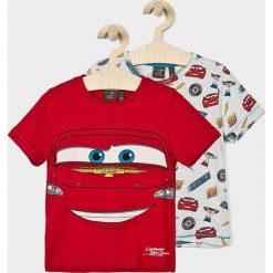 T-shirty chłopięce z nadrukiem: Blukids – T-shirt dziecięcy Cars 98-128 cm (2-pack)