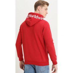 Bejsbolówki męskie: HUF OUTLINE BOX LOGO  Bluza z kapturem red