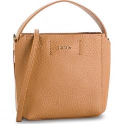 Torebka FURLA - Capriccio 992749 B BUI1 QUB Caramello f. Brązowe torebki klasyczne damskie marki Furla, ze skóry, zdobione. Za 1010,00 zł.