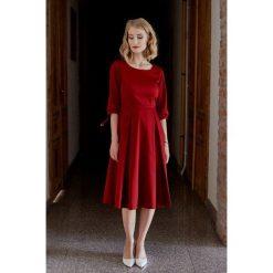 Sukienki hiszpanki: Sukienka Kaja czerwona 32