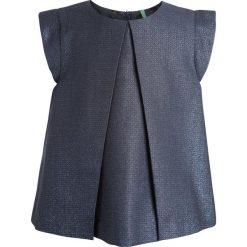 Benetton WAISTCOAT GIRL  Bluzka blue. Niebieskie bluzki dziewczęce bawełniane marki Benetton. W wyprzedaży za 135,20 zł.