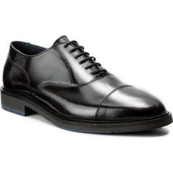Półbuty GANT - Walter 15631019 Black G00. Czarne półbuty skórzane męskie marki GANT. W wyprzedaży za 329,00 zł.