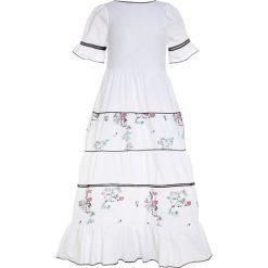 Sukienki dziewczęce: Patrizia Pepe DRESS Długa sukienka white