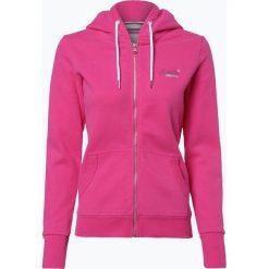 Superdry - Damska bluza rozpinana, różowy. Szare bluzy rozpinane damskie marki Superdry, l, z tkaniny, z okrągłym kołnierzem, na ramiączkach. Za 199,95 zł.