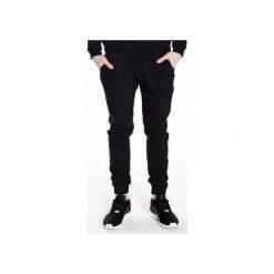 Spodnie dresowe UNIVERSUM |CZARNE|. Czarne joggery męskie MALE-ME, z bawełny. Za 220,00 zł.