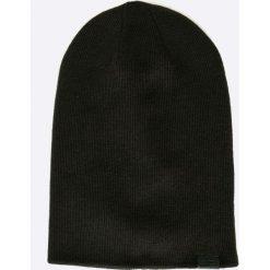 G-Star Raw - Czapka. Czarne czapki zimowe męskie G-Star RAW, z dzianiny. W wyprzedaży za 129,90 zł.