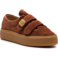 Sneakersy MAXMARA - 45268587600 Cuoio 001. Brązowe sneakersy damskie MaxMara, ze skóry. Za 2169,00 zł.