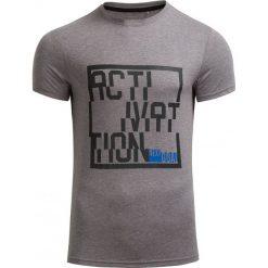 T-shirt męski TSM607 - ŚREDNI SZARY MELANŻ - Outhorn. Szare t-shirty męskie Outhorn, na jesień, m, melanż, z bawełny. W wyprzedaży za 27,99 zł.