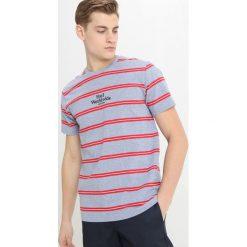 T-shirty męskie z nadrukiem: HUF GOLDEN GATE STRIPE Tshirt z nadrukiem blue