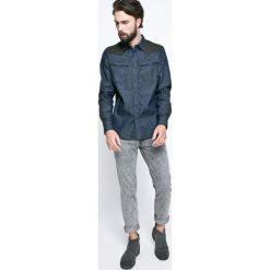 G-Star Raw - Koszula. Szare koszule męskie jeansowe marki G-Star RAW, m, z klasycznym kołnierzykiem, z długim rękawem. W wyprzedaży za 219,90 zł.