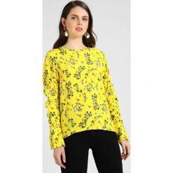 Bluzki asymetryczne: NORR TIFFANY Bluzka yellow