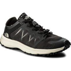Buty THE NORTH FACE - Litewave Flow Lace T92VV2LQ6 Tnf Black/Vintage White. Czarne buty sportowe damskie The North Face, z materiału, do biegania. W wyprzedaży za 259,00 zł.