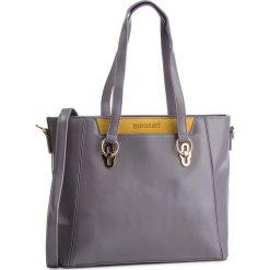 Torebka MONNARI - BAGB720-019 Szary Z Żółtym. Szare torebki klasyczne damskie Monnari, z materiału. W wyprzedaży za 209,00 zł.