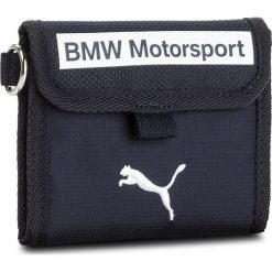Portfele męskie: Duży Portfel Męski PUMA – Bmw Motorsport Wallet 075134 01 Team Blue/Puma White