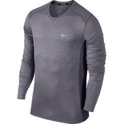 Koszulka do biegania NIKE DRY MILER RUNNING TOP LONG SLEEVE / 833593-081. Niebieskie koszulki do biegania męskie marki Nike, m, z materiału, z długim rękawem, dri-fit (nike). Za 139,00 zł.
