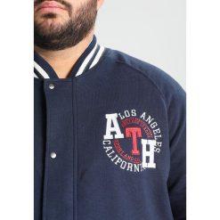 Kitaro Bluza rozpinana navy. Niebieskie bluzy męskie rozpinane marki Kitaro, m, z bawełny. W wyprzedaży za 381,75 zł.
