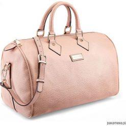 Torba PS TRAVEL Medium Powder Pink. Różowe torebki klasyczne damskie marki Pakamera, w paski. Za 165,00 zł.