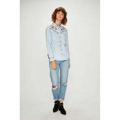 Desigual - Koszula. Szare koszule damskie marki Desigual, l, z długim rękawem. Za 399,90 zł.