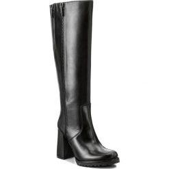 Kozaki EVA MINGE - Dominga 2I 17SF1372281EF 101. Czarne buty zimowe damskie Eva Minge, ze skóry. W wyprzedaży za 349,00 zł.