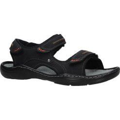Czarne sandały na rzepy Casu 9S-FH86408. Czarne sandały męskie Casu, na rzepy. Za 59,99 zł.