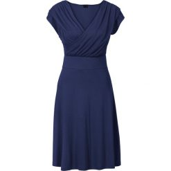 Sukienki: Sukienka z dżerseju bonprix ciemnoniebieski
