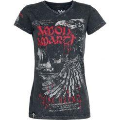 Amon Amarth EMP Signature Collection Koszulka damska czarny. Czarne bluzki na imprezę marki Molly.pl, l, w jednolite wzory, z tkaniny, wizytowe, z dekoltem na plecach, z krótkim rękawem. Za 79,90 zł.