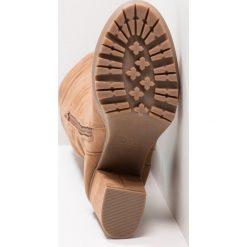 New Look CALIPO Kozaki na obcasie tan. Czarne buty zimowe damskie marki New Look, z materiału, na obcasie. Za 249,00 zł.