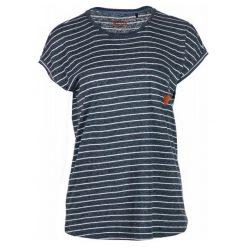 Mustang T-Shirt Damski Retro Stripe M Ciemnoszary. Niebieskie t-shirty damskie marki Mustang, z aplikacjami, z bawełny. Za 149,00 zł.
