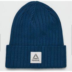 Reebok - Czapka. Szare czapki zimowe męskie Reebok, na zimę, z bawełny. Za 59,90 zł.
