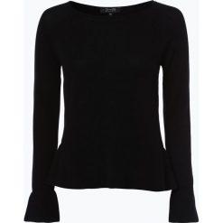 Swetry klasyczne damskie: SvB Exquisit – Sweter damski z czystego kaszmiru, czarny