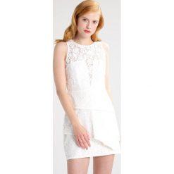 Sukienki hiszpanki: BCBGMAXAZRIA Sukienka koktajlowa off white