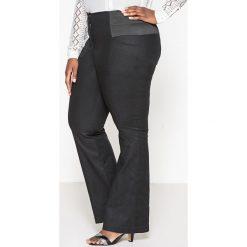 Spodnie z wysokim stanem: Spodnie bootcut, wysokie