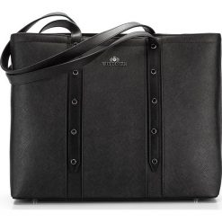 Torebka damska 85-4E-440-1. Czarne torebki klasyczne damskie marki Wittchen, zdobione. Za 559,00 zł.