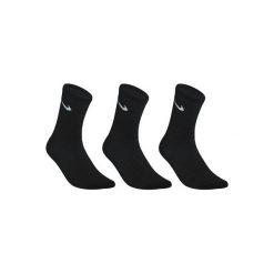 Skarpety sportowe Nike Crew Basic 3 pary. Czarne skarpetki męskie marki Nike, z bawełny. Za 34,99 zł.