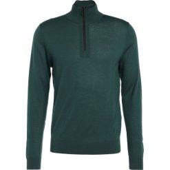 PS by Paul Smith MENS ZIP NECK  Sweter dark green. Zielone swetry klasyczne męskie PS by Paul Smith, m, z materiału. W wyprzedaży za 439,50 zł.