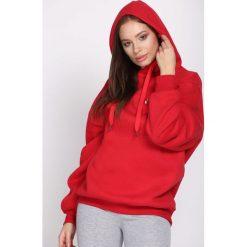 Czerwona Bluza Hear Me. Czerwone bluzy z kapturem damskie Born2be, m. Za 49,99 zł.