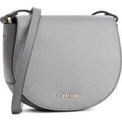 Torebka CALVIN KLEIN BLACK LABEL - Marissa Saddle Bag K60K603650  002. Czarne torebki klasyczne damskie marki Calvin Klein Black Label. W wyprzedaży za 279,00 zł.