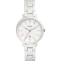 Zegarek FOSSIL - Jacqueline ES4397  White/White. Różowe zegarki damskie marki Fossil, szklane. Za 649,00 zł.