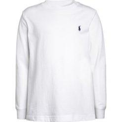 Polo Ralph Lauren Bluzka z długim rękawem white. Białe bluzki dziewczęce bawełniane Polo Ralph Lauren, z długim rękawem. Za 149,00 zł.