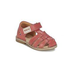Sandały Dziecko  Kavat  FORSVIK. Czerwone sandały dziewczęce Kavat. Za 237,30 zł.