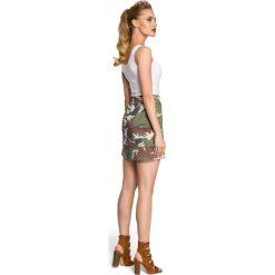 GABRIELLA Spódniczka moro - model 1. Szare spódniczki Moe, moro, mini, trapezowe. Za 69,90 zł.