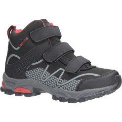 Czarne buty trekkingowe na rzepy softshell Casu B1516B-3. Czarne buty trekkingowe damskie marki Casu. Za 99,99 zł.