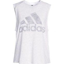Adidas Performance WINNERS TEE Top white. Białe topy sportowe damskie adidas Performance, xxl, z bawełny. Za 129,00 zł.