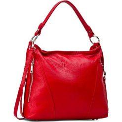 Torebka CREOLE - RBI1179 Czerwony. Czerwone torebki klasyczne damskie Creole, ze skóry. W wyprzedaży za 209,00 zł.
