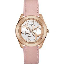 Guess Jeans - Zegarek W0895L6. Różowe zegarki damskie Guess Jeans, szklane. Za 499,90 zł.