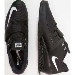 Nike Performance ROMALEOS 3 Obuwie treningowe black/hyper crimson. Czarne buty sportowe męskie marki Nike Performance, z materiału, na golfa. Za 839,00 zł.