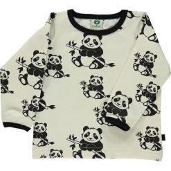 Koszulka w kolorze białym. Białe bluzki dziewczęce z długim rękawem marki UP ALL NIGHT, z bawełny. W wyprzedaży za 75,95 zł.