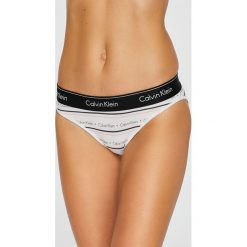 Calvin Klein Underwear - Figi. Brązowe figi Calvin Klein Underwear, l, z dzianiny. W wyprzedaży za 59,90 zł.